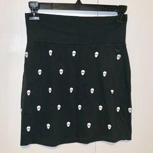 PINK Victoria's Secret Skull Mini Skirt NWOT